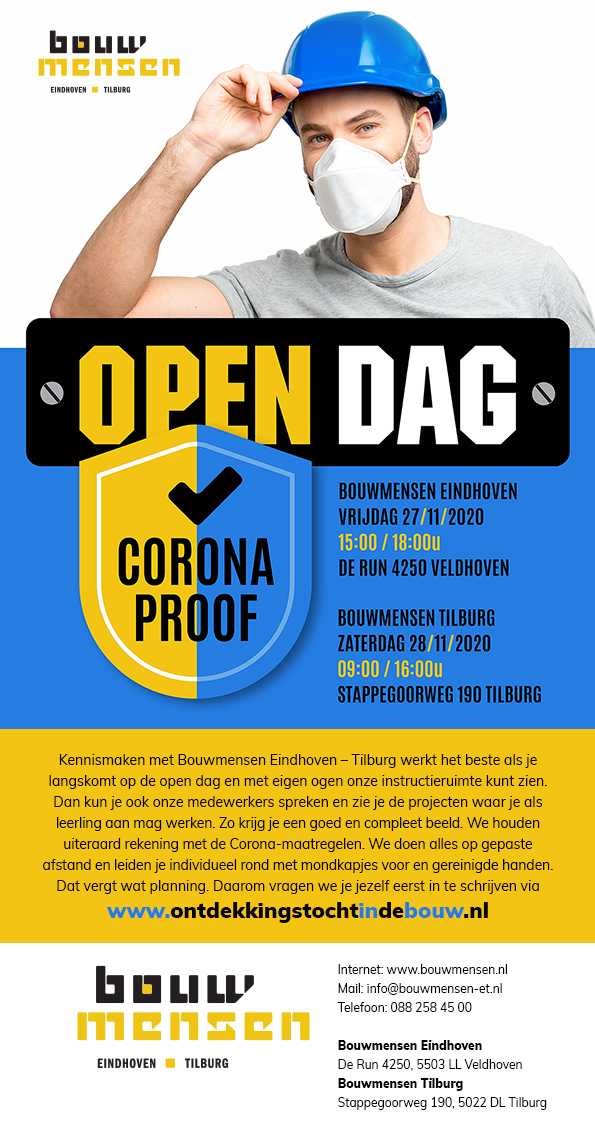 Coronaproof Open Dag